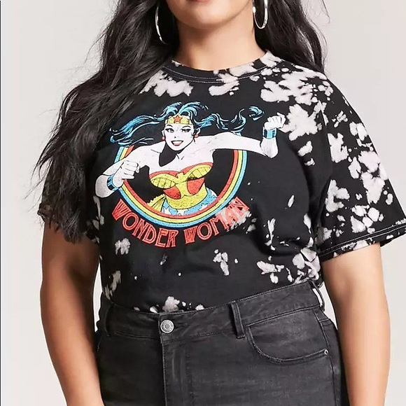 cab51693f Forever 21 Tops - NWOT FOREVER 21 PLUS SIZE Wonder Woman T-shirt!
